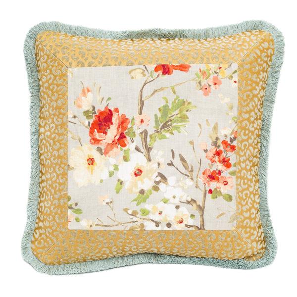 Garden Club Jaguar Pillow 2